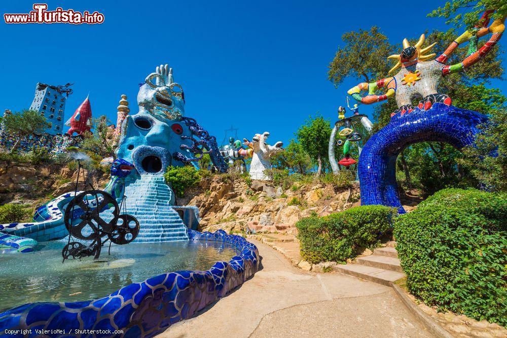 Il giardino dei tarocchi di capalbio in maremma foto capalbio - Capalbio giardino dei tarocchi ...