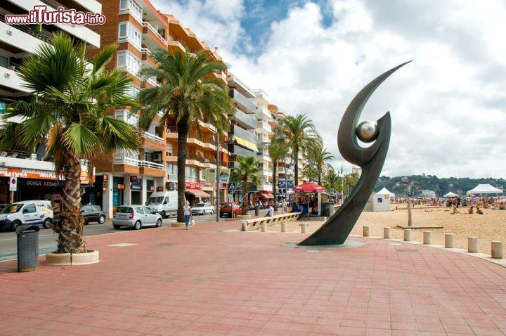 Il monumento de l 39 esguard di lloret de mar foto - Lloret del mar meteo ...
