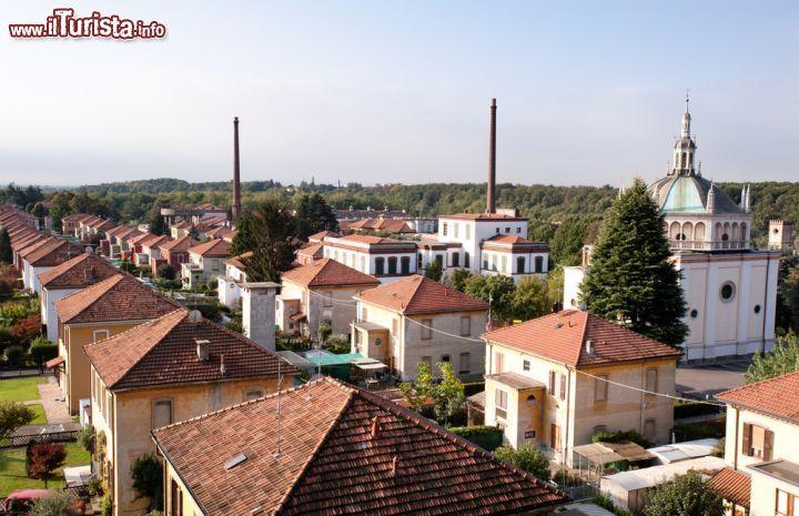 Crespi d'Adda, visita al villaggio industriale Patrimonio UNESCO | Guida e foto