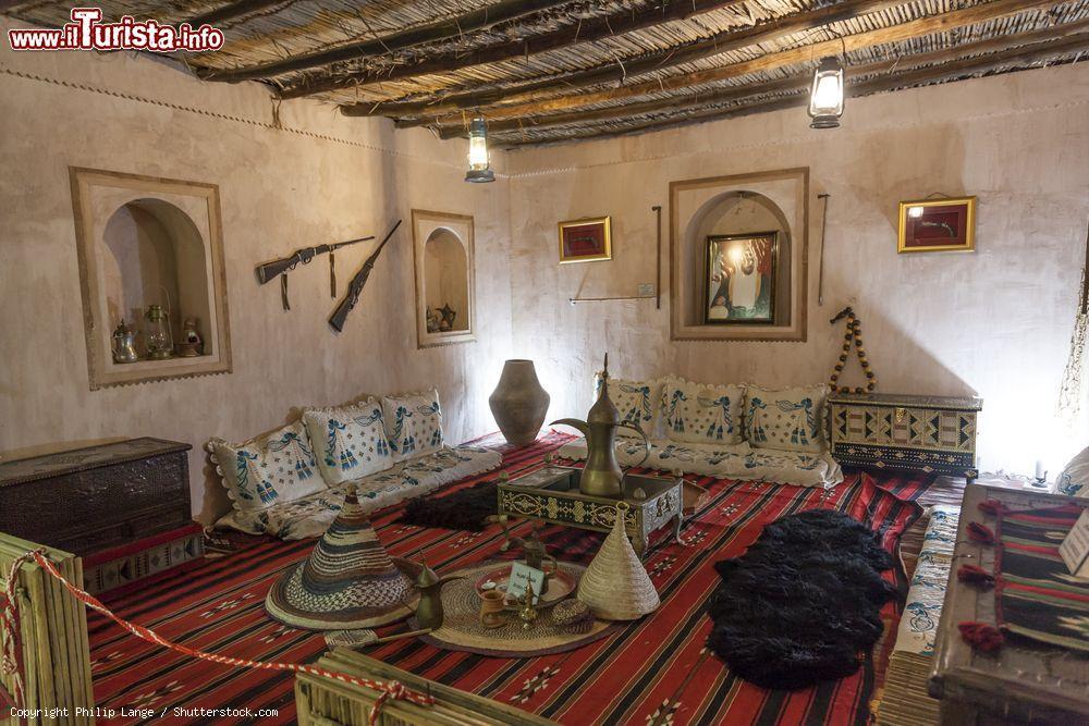 Interno di una vecchia casa beduina nella citt foto for Interno di una casa