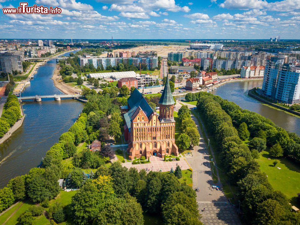 Le foto di cosa vedere e visitare a Kaliningrad