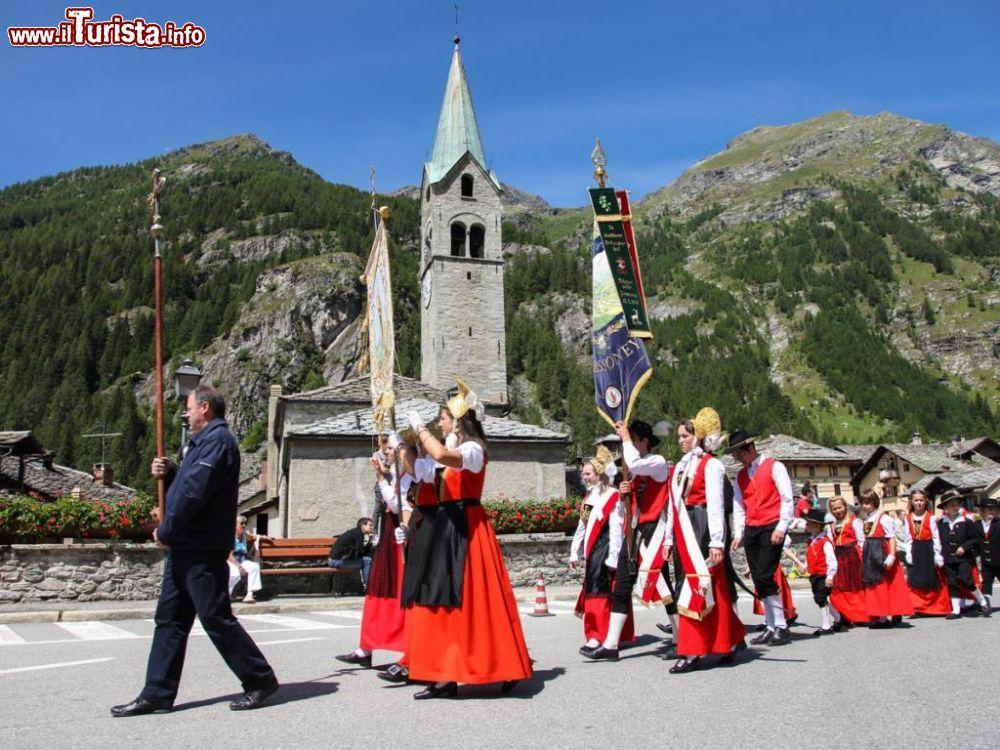 Festa patronale di San Giovanni Gressoney-Saint-Jean
