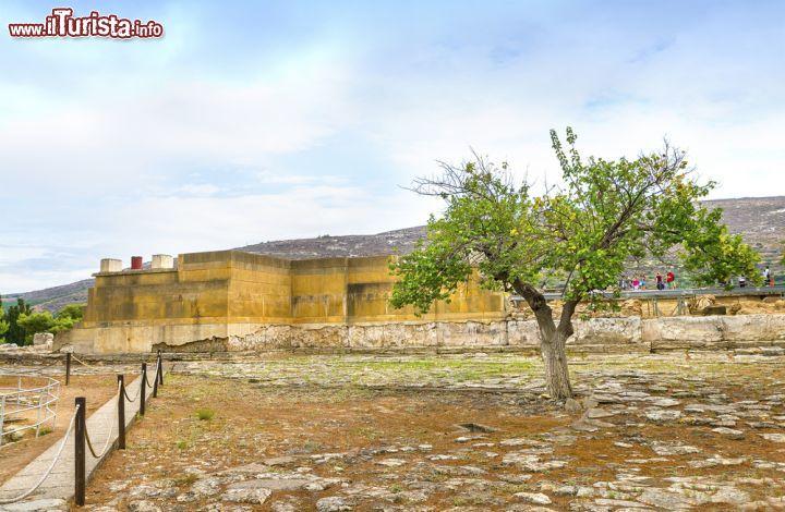 Visita al sito del palazzo di cnosso a heraklion for Piani di palazzo con piscina coperta