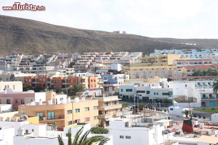 La citt di morro jable vista dall 39 alto foto - Centro hogar armas fuerteventura ...