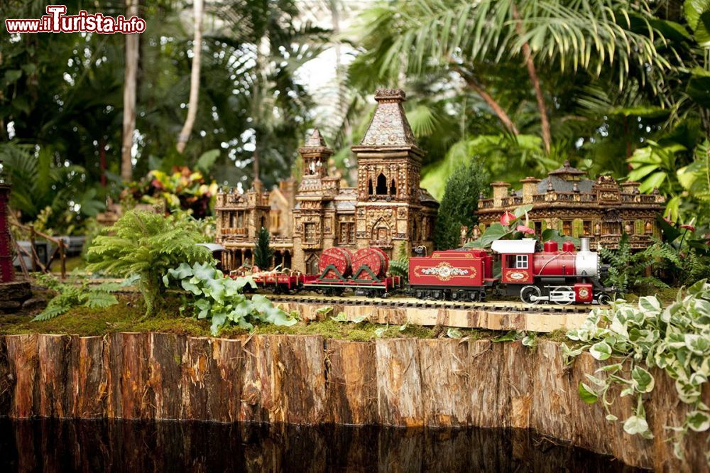 New york botanical garden e holiday train show foto new york city for New york botanical gardens train show