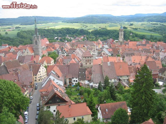 Immagine Panorama del centro di Rottweil in Germania - © Christoph Probst - Sebastian Wallroth - Wikimedia Commons.