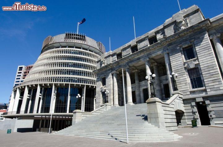 Un particolare del parlamento della nuova zelanda for Foto del parlamento