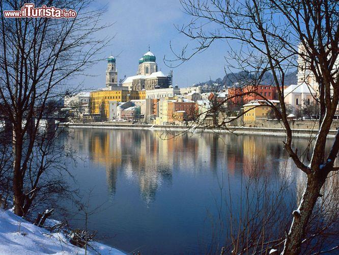Passau il pittoresco paesaggio invernale della foto for Disegni paesaggio invernale