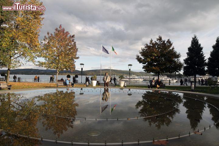 Passeggiata lungo il lago maggiore a arona piemonte - Lago lungo bagno di romagna ...