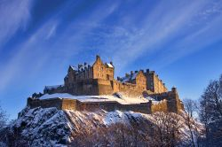 Il Castello di Edimburgo (Edinburgh castle) come ...