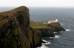 Il faro di Neist Point Lighthouse sorge ...