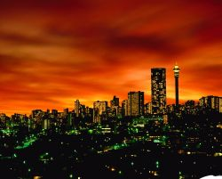 Johannesburg Skyline Sudafrica - Fonte South African Tourism