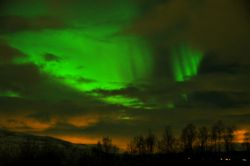 Le Luci del nord (Northern Lights) come osservate dalla regione ...