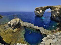 I templi megalitici di gigantia gozo malta foto gozo - La finestra azzurra gozo ...