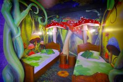 Gardaland Magic Hotel, la camera Foresta Incantata ideale per bimbi