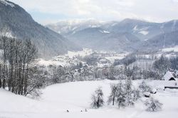 Gostling an der Ybbs in inverno, Austria - © Herbert Ortner - CC BY 2.5, Wikipedia