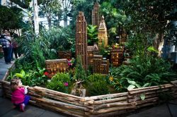 Holiday Train Show a New York City presso il New York Botanical ...
