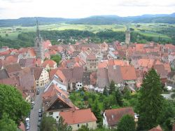 Panorama del centro di Rottweil in Germania - © Christoph Probst - Sebastian Wallroth - Wikimedia Commons.