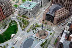 Uno scorcio di Cleveland dal punto panoramico del Tower City Center, Ohio (USA) - © Nigar Alizada / Shutterstock.com