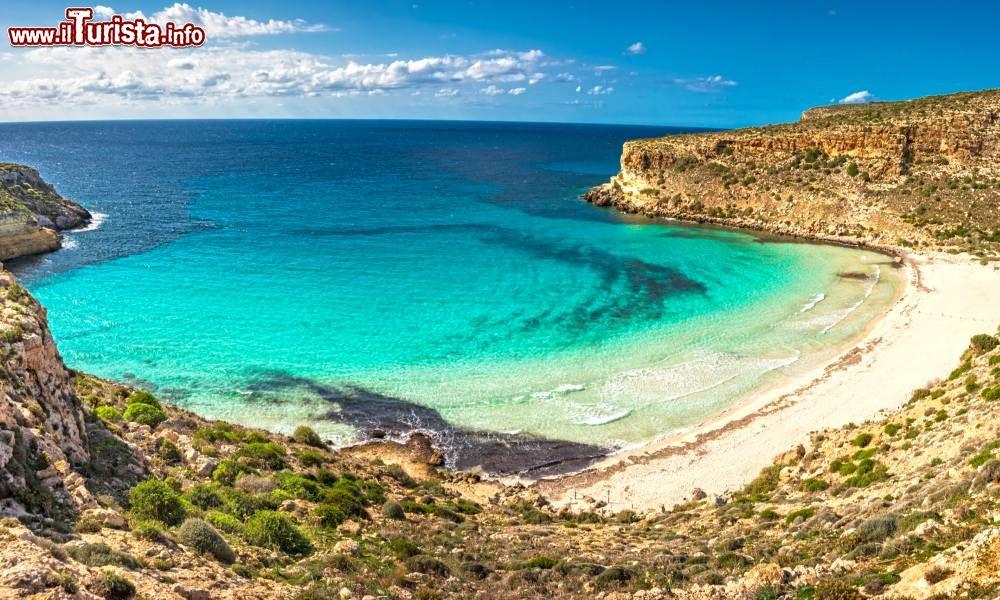 Cartina Delle Spiagge Di Lampedusa.Le Spiagge Piu Belle Di Lampedusa