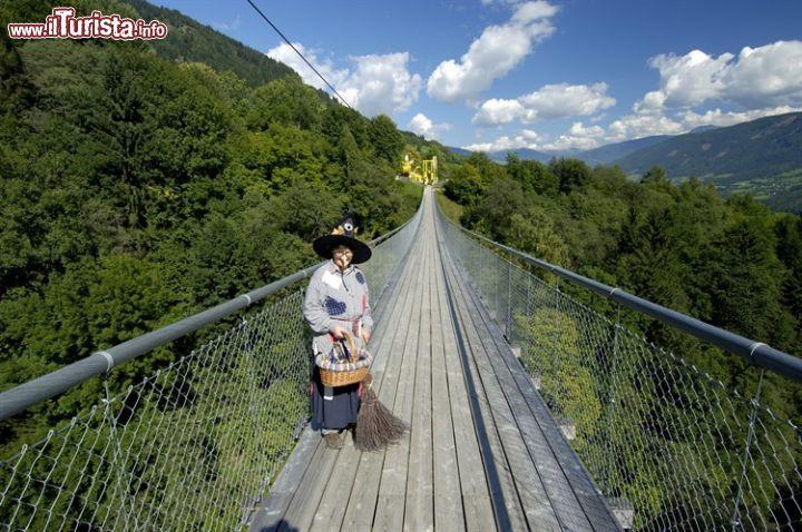 Foto Ponti Incantevoli Favole : Un ponte pedonale spettacolare sul sentiero delle