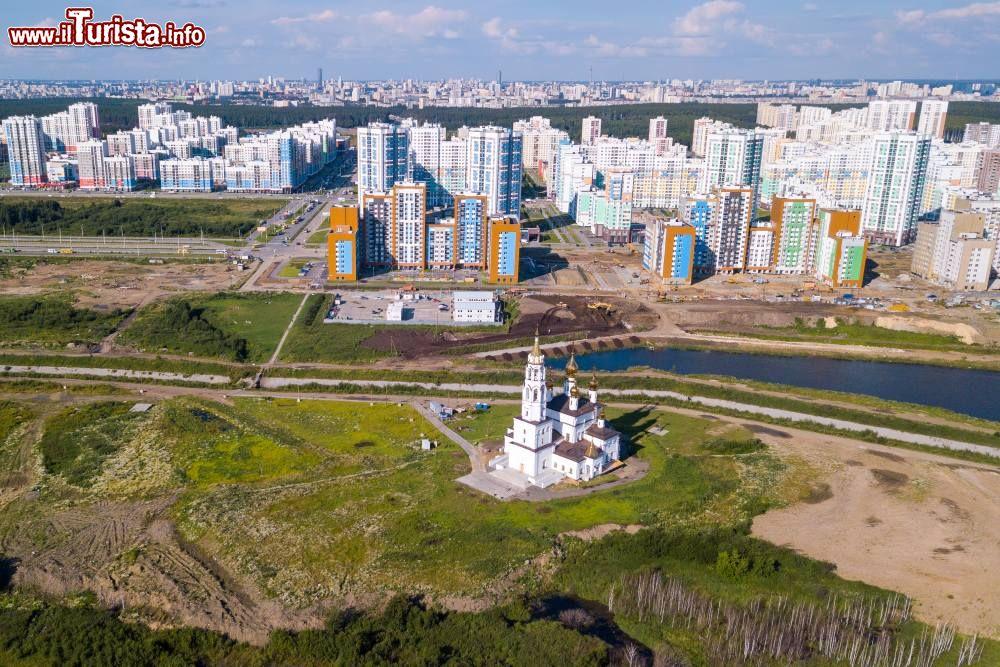Le foto di cosa vedere e visitare a Ekaterinburg