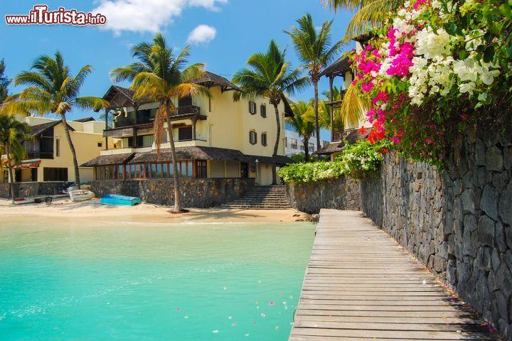 Ville nel villaggio di Grand Baie, Mauritius     | Foto