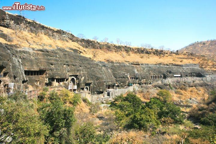 Le foto di cosa vedere e visitare a Ajanta