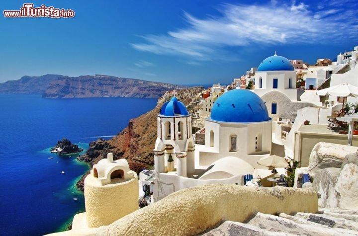 Le foto di cosa vedere e visitare a Santorini