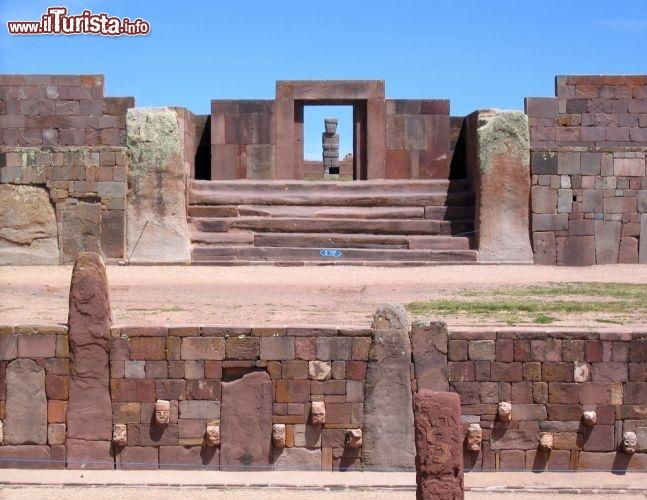Le foto di cosa vedere e visitare a Tiwanaku