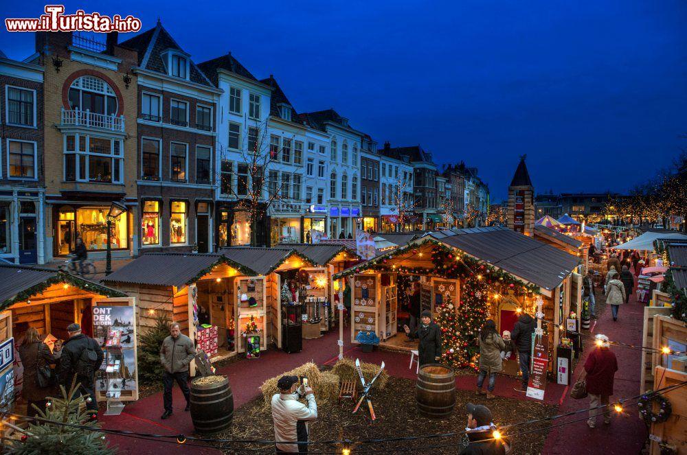 Mercatini di Natale galleggiante Leiden