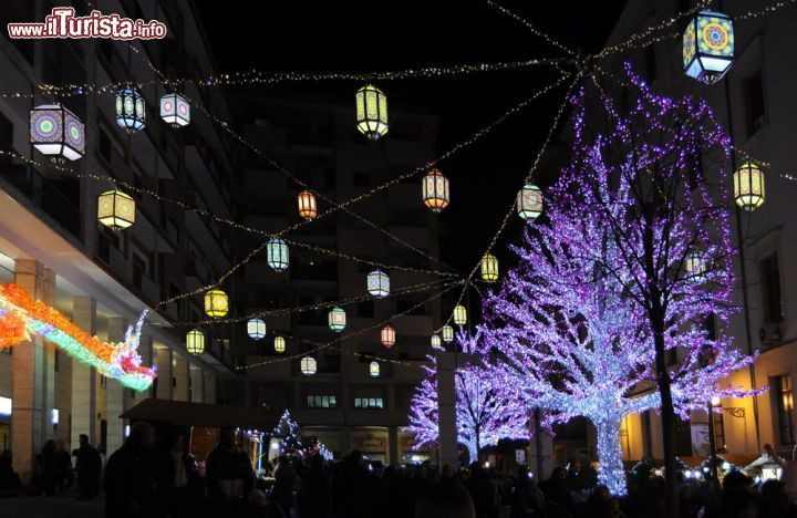 Luci d'Artista e mercatini di Natale Salerno