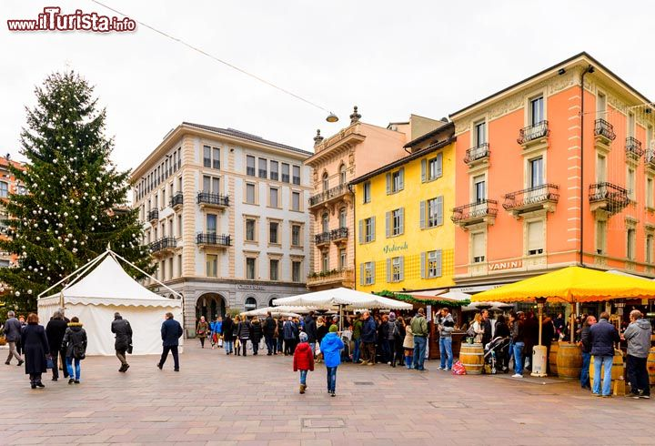 Natale in Piazza Lugano