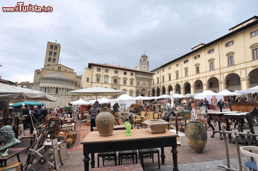 Fiera Antiquaria, il mercatino dell'antiquariato Arezzo