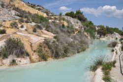 Lo stabilimento termale posta marcucci alle terme di bagno vignoni - Terme libere bagno vignoni ...