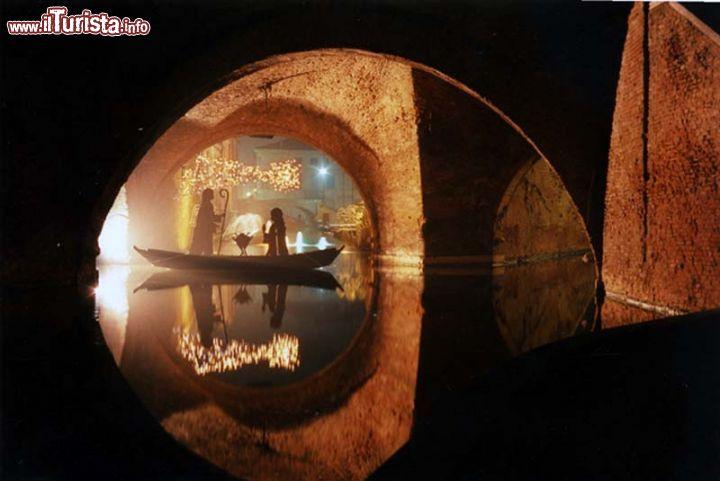I presepi sull'acqua Comacchio