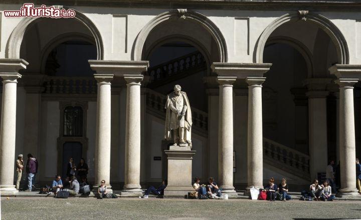 Loggia della pinacoteca brera e dell 39 accademia foto for Accademia di design milano