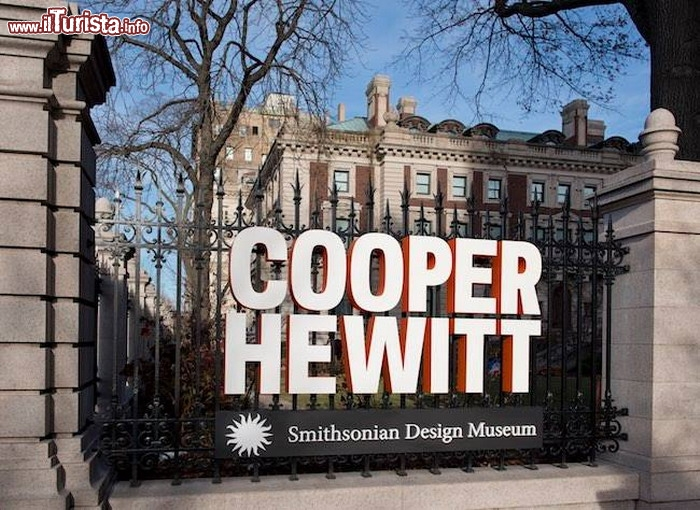 Immagine Il Cooper Hewitt Smithsonian Design Museum a New York City, si trova vicino a Central Park - © cooperhewitt.org