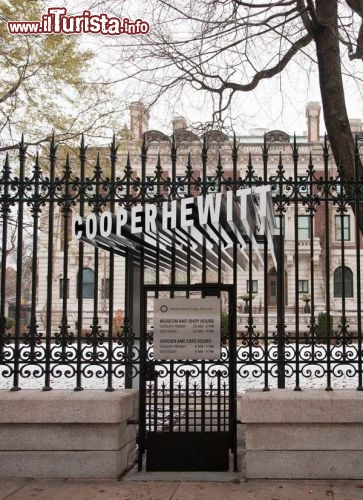 Immagine Ingresso del museo di design Copper-Hewitt  a New York City - © cooperhewitt.org