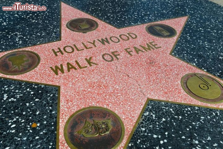 Immagine La Hollywood Walk of Fame a Los Angeles - © Stanislav Fosenbauer / Shutterstock.com