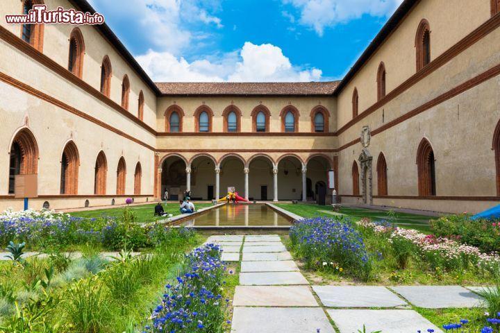 La Corte Ducale, interna a Castello Sforzesco ... | Foto Milano ...