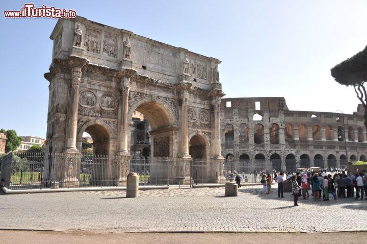 Cosa vedere e cosa visitare Arco di Costantino