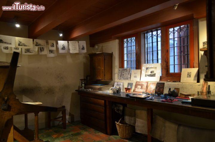 La sala di stampa all 39 interno della casa foto for Interno della casa