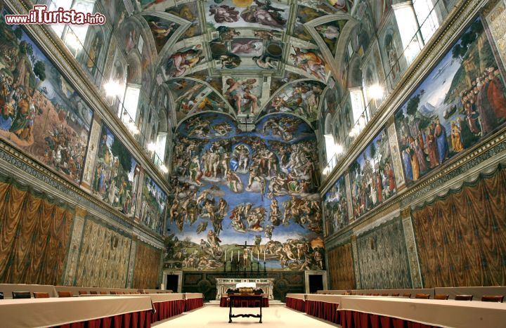 Cosa vedere e cosa visitare Cappella Sistina