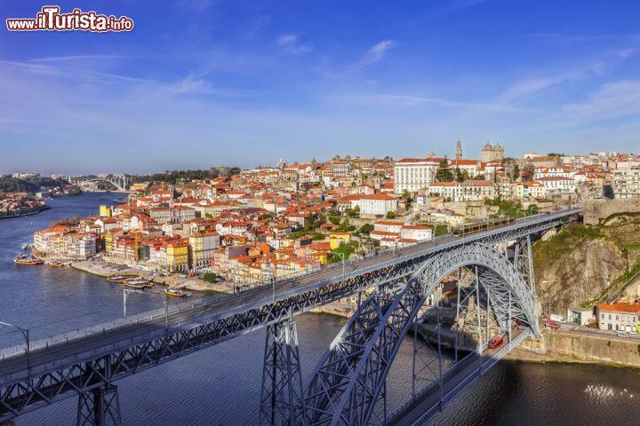 Veduta panoramica del ponte dom luis i don foto for Piani di progettazione di ponti gratuiti