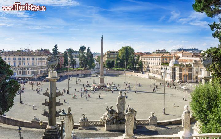 Cosa vedere e cosa visitare Piazza del Popolo
