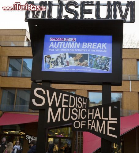 Immagine Swedish Music Hall of Fame Abba Museum Stoccolma- © Victor Maschek / Shutterstock.com