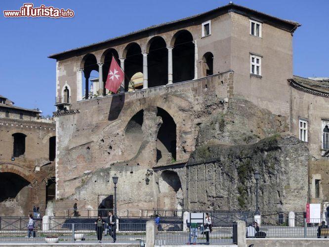Casa dei Cavalieri di Rodi a Roma la terrazza ... | Foto Roma Casa ...
