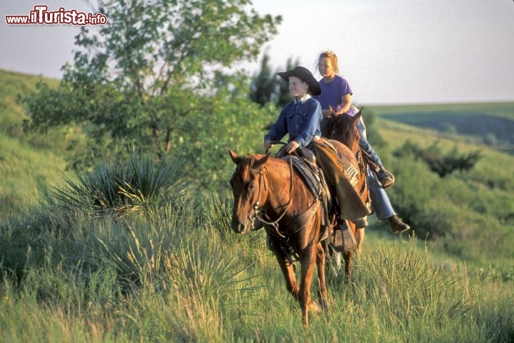 Immagine Escursioni a cavallo in South Dakota