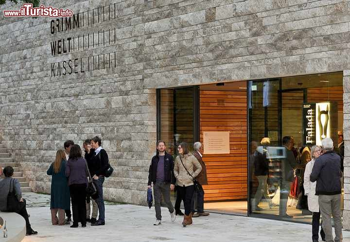 Immagine Ingresso del museo Grimm Welt a Kassel in Germania